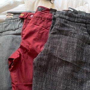Work/office pants bundle H&M/target